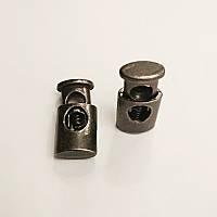 Фиксатор для шнура, металл, антик (1000шт)