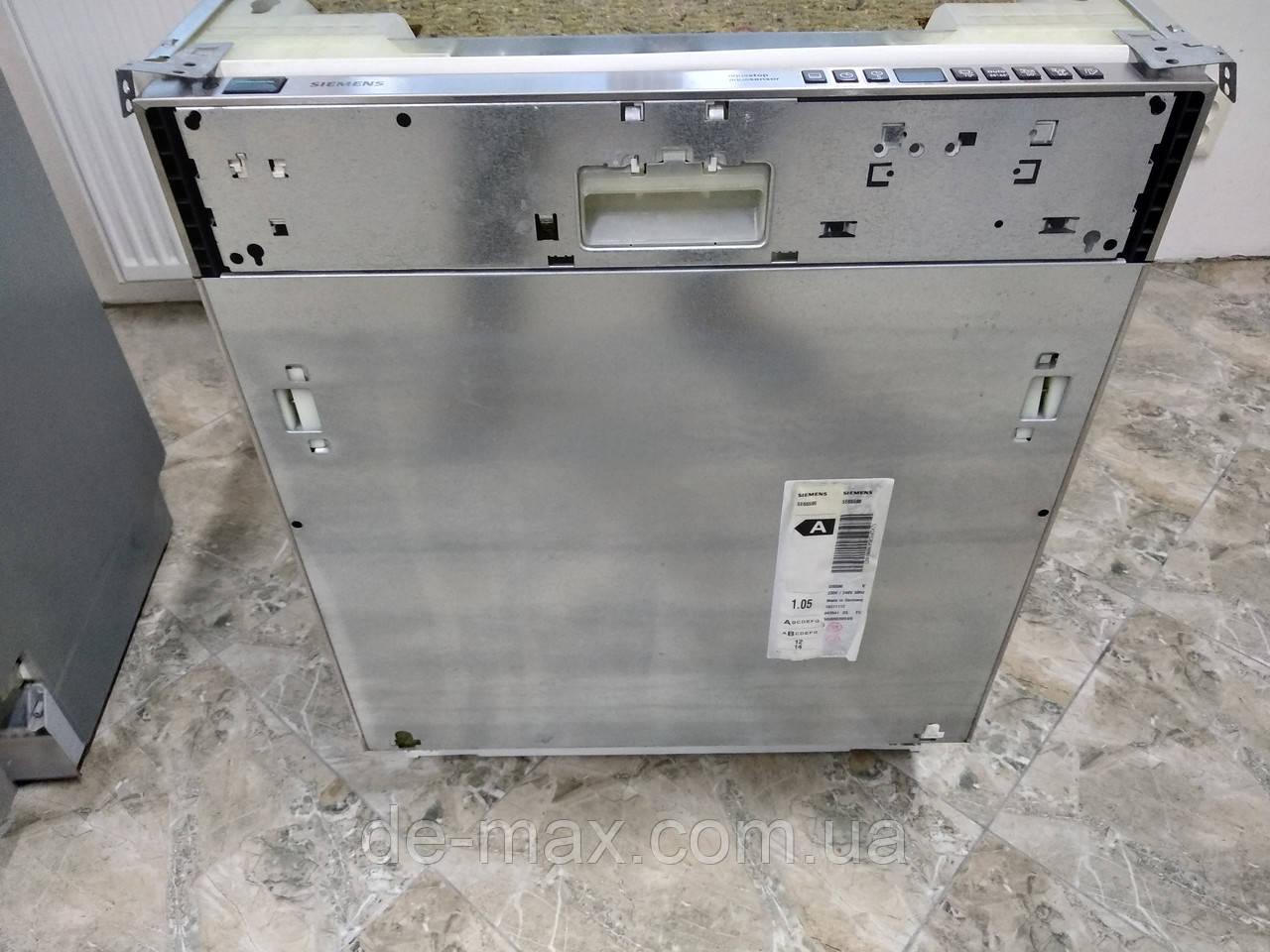 Посудомоечная машина встраиваемая Siemens SE 65590 ширина 60см 12 комплектов