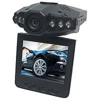 """Автомобильный видеорегистратор DVR H198F (ЖК экран 2,5"""", ИК подсветка, разрешение записи - 640x480/ 30 fps AVI"""