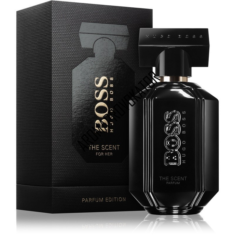 Hugo Boss The Scent Black For Her парфюмированная вода 100 ml. (Хуго Босс  Зе Сент Блэк Фо Хе) 3dd7be23ef923