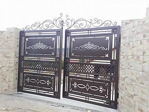 Кованые ворота, ограждения, перила, лестницы 1