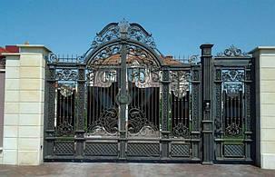 Кованые ворота, ограждения, перила, лестницы 2