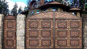 Кованые ворота, ограждения, перила, лестницы 3