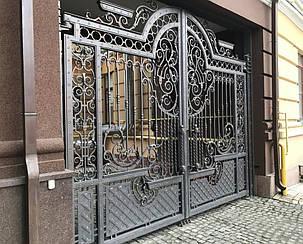Кованые ворота, ограждения, перила, лестницы 4