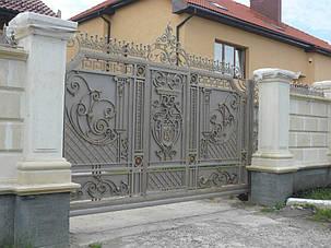 Кованые ворота, ограждения, перила, лестницы 5
