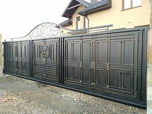 Кованые ворота, ограждения, перила, лестницы 6