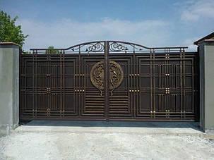 Кованые ворота, ограждения, перила, лестницы 7