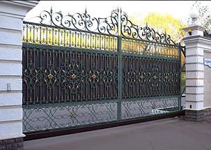 Кованые ворота, ограждения, перила, лестницы 9