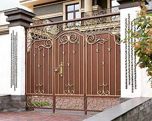 Кованые ворота, ограждения, перила, лестницы 10