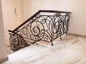Кованые ворота, ограждения, перила, лестницы 13