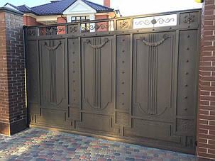 Кованые ворота, ограждения, перила, лестницы 14
