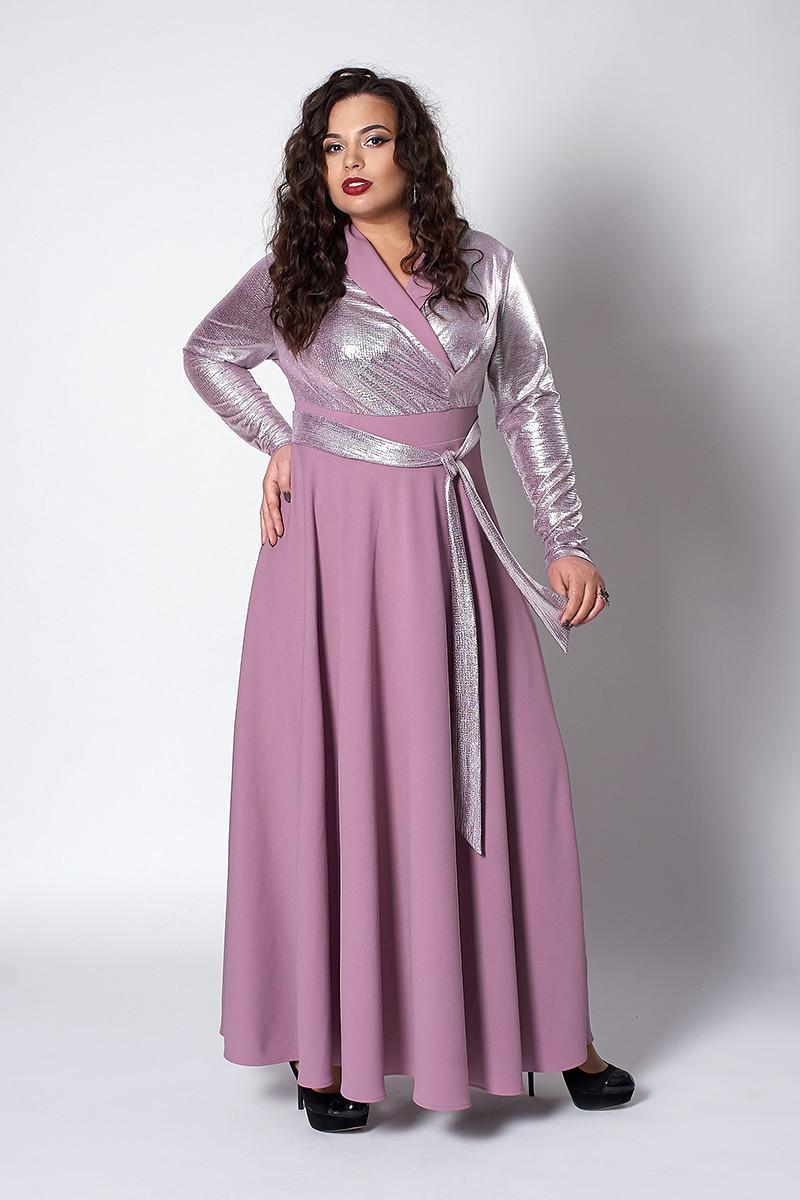 Пишне жіноче плаття розмір 52,54,56 фрезія