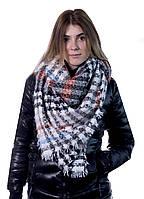 Шарф женский Bruno Rossi 135 х 130 см Комбинированный 160 grey-orange, КОД: 190778