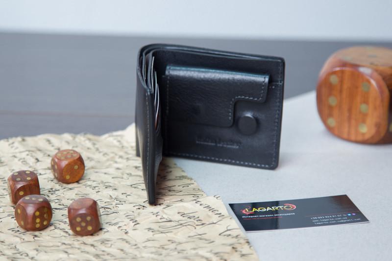 d19ad91b7ffb ... Хит 2019 года! Черный мужской кошелек портмоне из ИТАЛЬЯНСКОЙ КОЖИ, ...