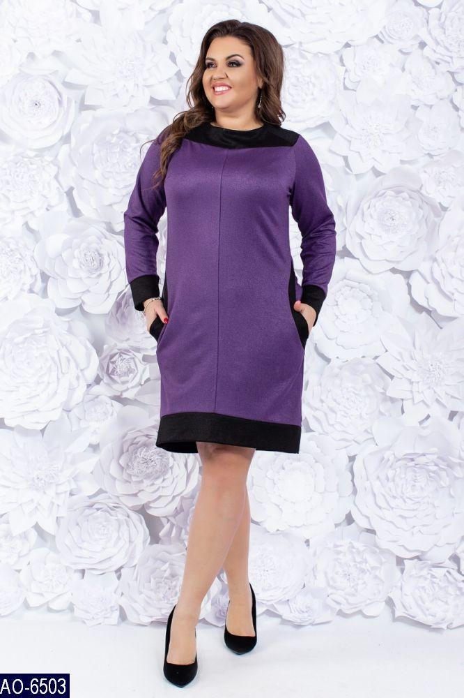 Сукня батал з кокеткою Сімонет  продажа be9e76f5e6457