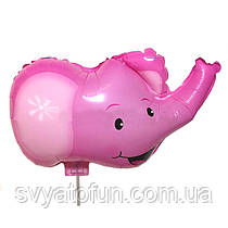 "Фольгований куля-комплект ""рожевий Слоник"", Китай"