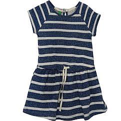 Платье United Colors of Benetton 3R5ZF11HS 82 см Сине-белый 8300896049704, КОД: 264624