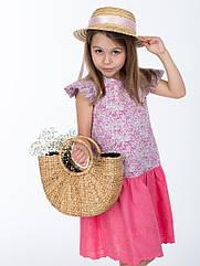 Платье Маргаритка SIGI 128 см Розовый Sigi-0001, КОД: 264608