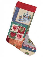 Сапожек для подарков Limaso Рождество 25х37 см EDEN483-CH, КОД: 147477