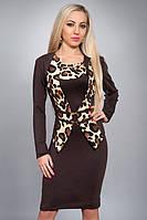 Модный комплект жакет и платье с коротким рукавом