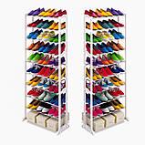 Полиця для взуття Amazing Shoe Rack на 30 пар, фото 8