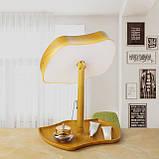 Косметичне дзеркало з Сенсорним Екраном| C Підсвічуванням + Настільна лампа 2 в 1 Mirror Lamps, фото 6