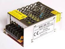 Блок питания 12V 36W (3A) compact