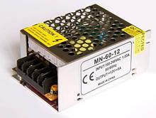 Блок питания 12V 60W (5A) compact