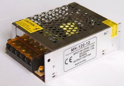 Блок питания 12V 120W (10A) compact