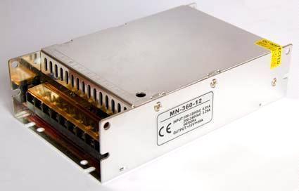 Блок питания 12V 360W (30A) compact