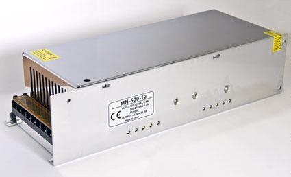 Блок питания 12V 500W (42A) compact