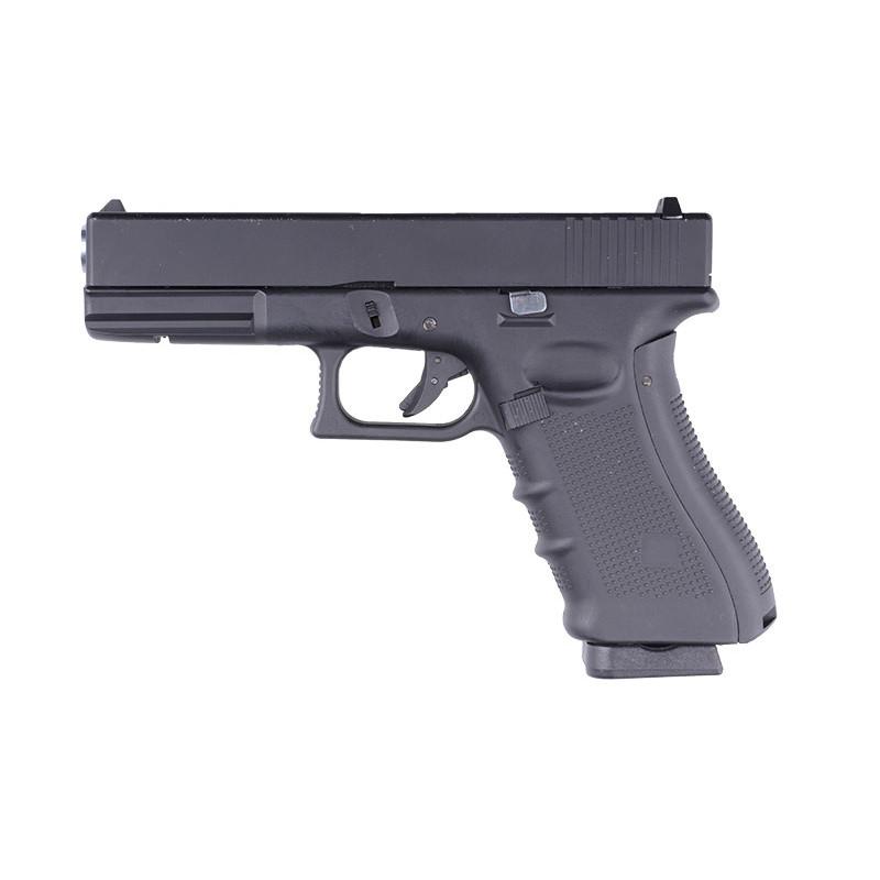 Пістолет WELL Glock 17 Metal G197 GBB