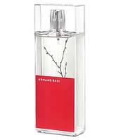 Armand Basi in Red 100ml edt (Лёгкая, цветочная композиция будет идеальным подарком для чувственной девушки)