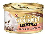 Gourmet gold форель с овощами в подливке