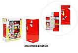 Холодильник арт 14006   22,5см, муз, свет, продукты, на бат-ке, в кор-ке,21-27-10 см  , фото 4