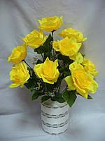 Роза круговая - 9 голов (10 шт в уп)