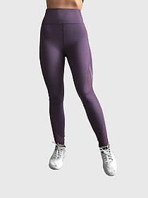 Леггинсы женские для фитнеса Trend Fitness Фиолетовые S 86TF18VIS, КОД: 152741