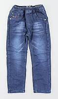 Джинсовые брюки на флисе для мальчиков Grace оптом, 98-128 рр.