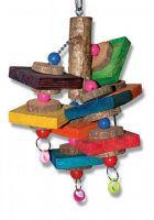 Игрушка Montana Cages H77130 'Деревянные кольца' для попугаев 22 см/25 см/42 см
