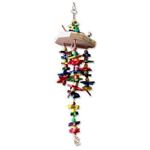 Игрушка Montana Cages H77129 'Игрушка Джаспера' для попугаев 13 см/13 см/48,5 см