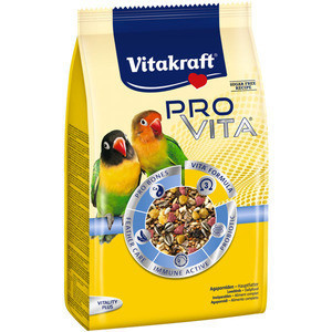 Корм Vitakraft Pro Vita для экзических птиц, с пробииками, 750 г