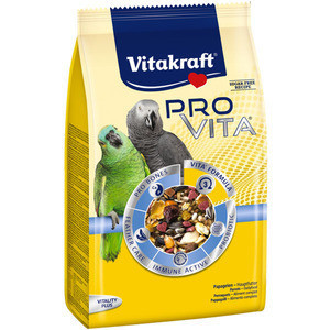 Корм Vitakraft Pro Vita для крупных попугаев, с пробииками, 750 г