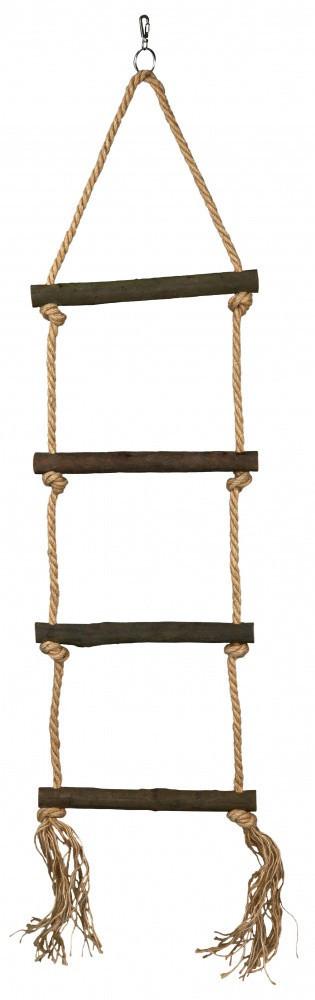 Лестница Trixie Rope Ladder для птиц, 4 ступеньки, 85 см