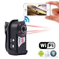 Очень маленькая Wifi HD камера Q7, вай фай видеокамера q7 с датчиком движения и ночной съемкой, фото 1