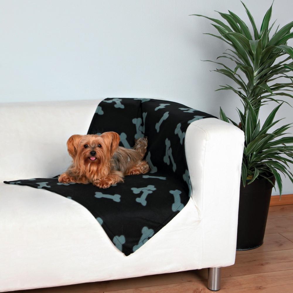 Коврик Trixie 37192 Beany черный с косточками