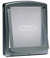 Дверца Staywell Original для собак средних пород, серая, 352х294 мм