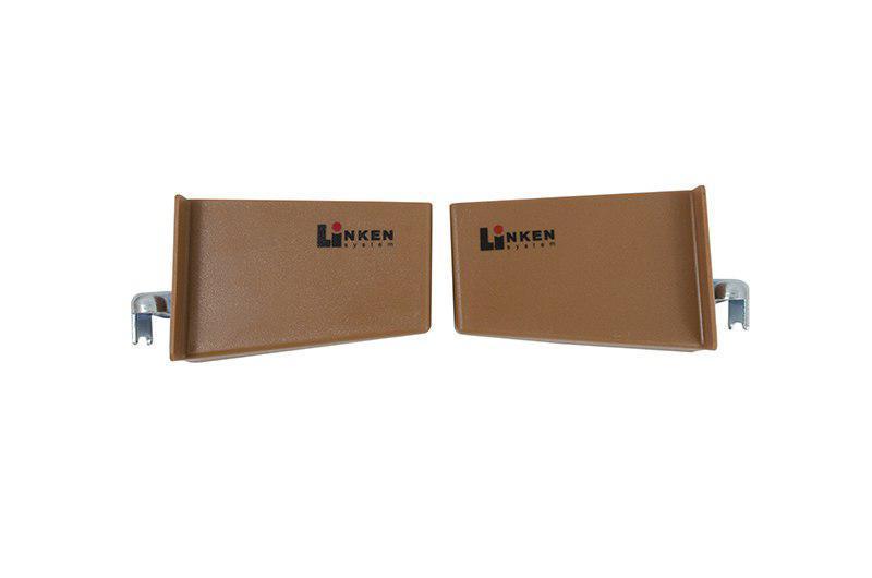 Навес  Linken System с заглушками (прав+лев. комплект)  Коричневый