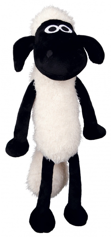 Игрушка Trixie Shaun the Sheep для собак плюшевая, с пищалкой, 28 см