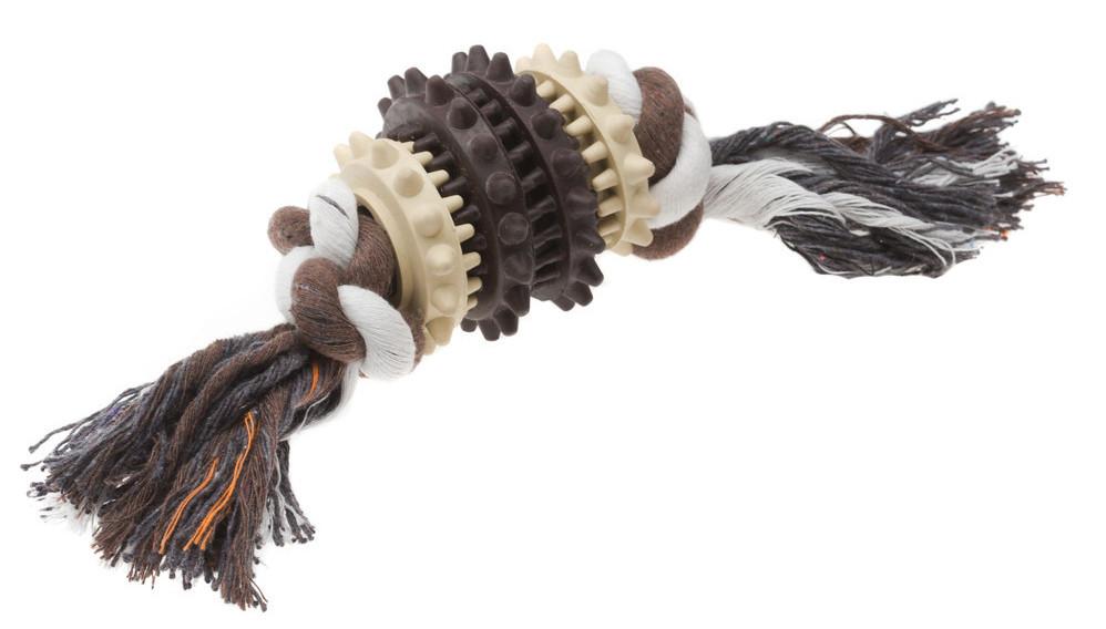 Игрушка Comfy Vanilla&Choco для собак шнурок, 25x6 см