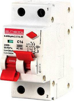 Выключатели дифференциального тока (дифавтоматы) серии PRO тип АС с раздв. рук.